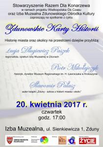 plakat - spotkanie w IM Karty Historii_resize