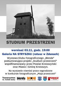 BLENDA w Zdunach plakat